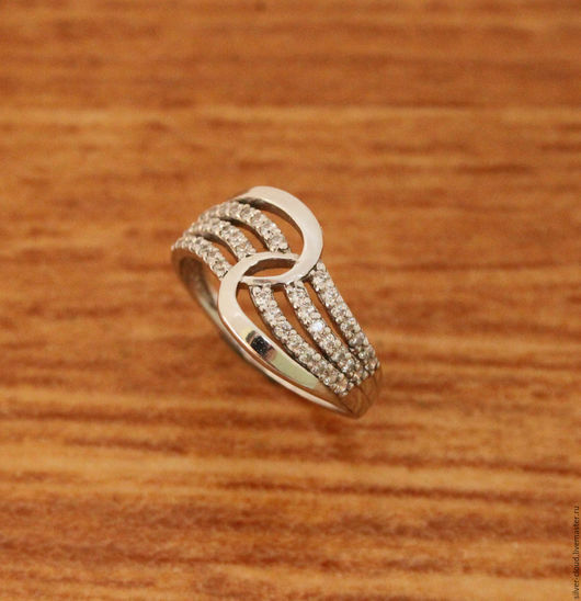 Кольца ручной работы. Ярмарка Мастеров - ручная работа. Купить Серебряное кольцо Рандеву, серебро 925. Handmade. Серебряный