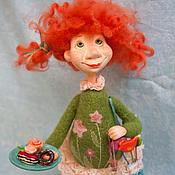 Куклы и игрушки ручной работы. Ярмарка Мастеров - ручная работа Пироженка. Handmade.