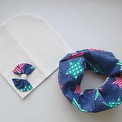 Работы для детей, ручной работы. Ярмарка Мастеров - ручная работа Комплект шапка и снуд. Handmade.