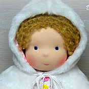 Куклы и игрушки ручной работы. Ярмарка Мастеров - ручная работа Анечка, вальдорфская кукла. Handmade.