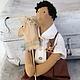 интерьерная кукла ручной работы  кукла тильда  купить тильду  купить куклу  сплюшка   кукла с куклой декор детской  мальчик  девочка лошадка