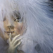 Stuffed Toys handmade. Livemaster - original item An angel with a secret. Author`s doll. Cheb Style. Handmade.