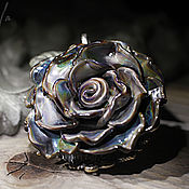 """Украшения ручной работы. Ярмарка Мастеров - ручная работа Кулон  """"Старинная роза"""". Handmade."""
