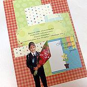 Канцелярские товары ручной работы. Ярмарка Мастеров - ручная работа Страницы для школьного портфолио ученика. Handmade.