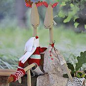 Куклы и игрушки ручной работы. Ярмарка Мастеров - ручная работа Лосята  Эльза и Роби. Handmade.