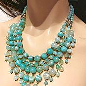 Украшения handmade. Livemaster - original item Necklace of agate -