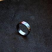 Украшения handmade. Livemaster - original item Titanium ring. Handmade.