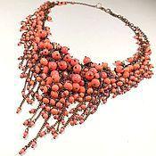 Украшения handmade. Livemaster - original item Coral Parfait. Necklace.. Handmade.