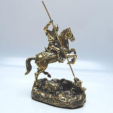 Статуэтка Святой Георгий Победоносец