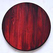 Круглый деревянный фотофон