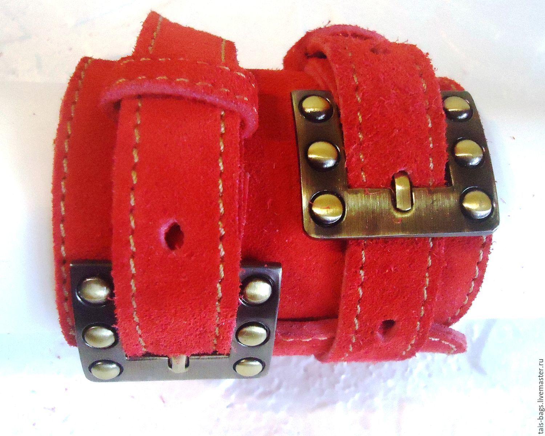 Bracelet suede women's ' Varenka', Braided bracelet, Izhevsk,  Фото №1