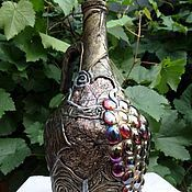 Сувениры и подарки handmade. Livemaster - original item A bottle of wine