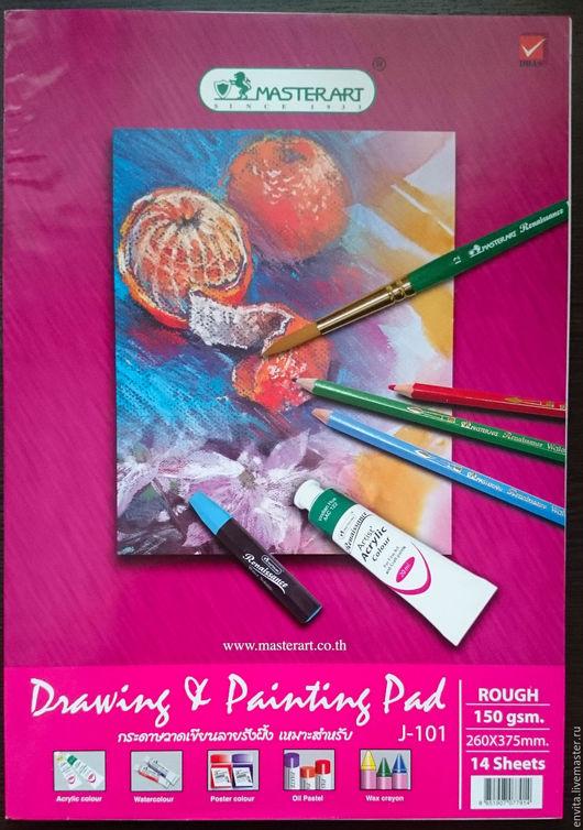 Блокноты ручной работы. Ярмарка Мастеров - ручная работа. Купить Альбом для рисования на подложке. Handmade. Белый, альбом для рисования, для набросков