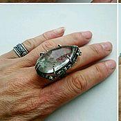Украшения ручной работы. Ярмарка Мастеров - ручная работа Кольцо с кварцем из серебра. Handmade.