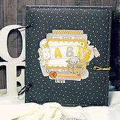 Подарки к праздникам handmade. Livemaster - original item Scrap album for baby. Handmade.