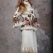"""Одежда ручной работы. Ярмарка Мастеров - ручная работа Валяный зимний костюм """"ГЕРДА"""". Handmade."""