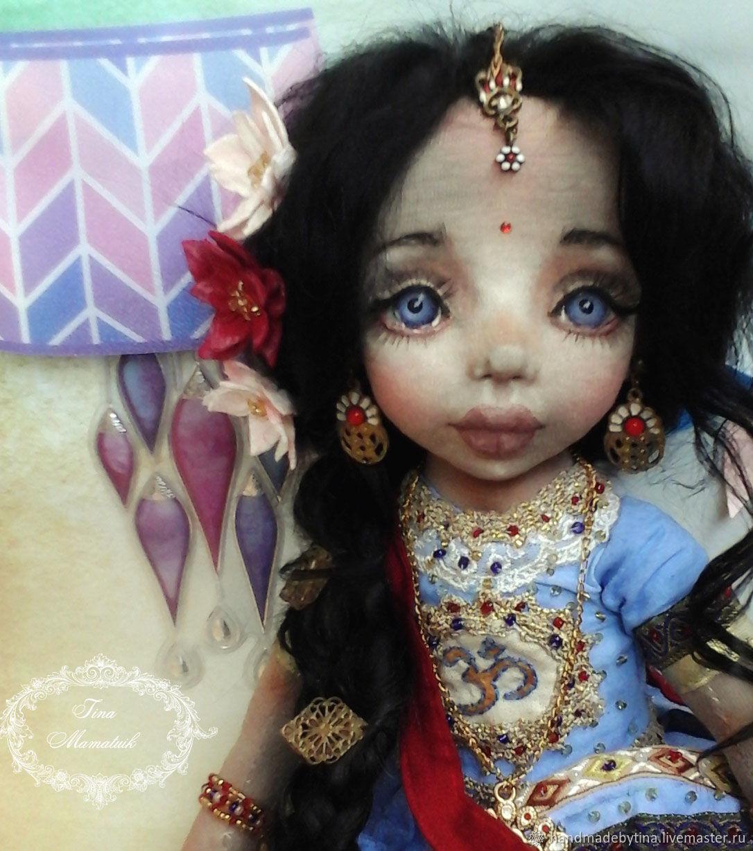 Lakshmani. Textile doll, Dolls, Moscow,  Фото №1