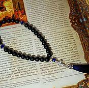 Фен-шуй и эзотерика handmade. Livemaster - original item Orthodox prayer beads from shungit