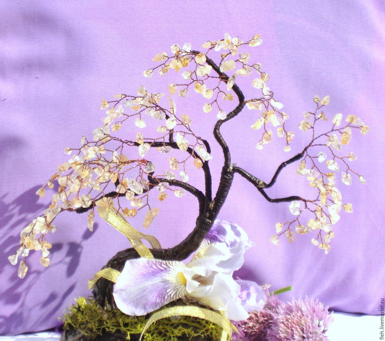 Дерево счастья из цитрина, Деревья, Новосибирск, Фото №1