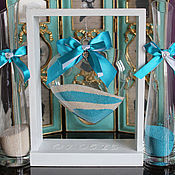 Свадебный салон ручной работы. Ярмарка Мастеров - ручная работа Песочная церемония LUXE. Handmade.