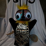 Куклы и игрушки ручной работы. Ярмарка Мастеров - ручная работа Муха. Перчаточная кукла.. Handmade.