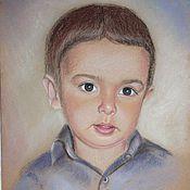 Картины и панно ручной работы. Ярмарка Мастеров - ручная работа Портрет ребенка. Handmade.