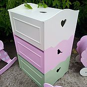 Для дома и интерьера ручной работы. Ярмарка Мастеров - ручная работа Ящики для игрушек. Handmade.