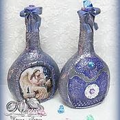 Посуда handmade. Livemaster - original item The bottle of Epiphany water - the lamp. Handmade.