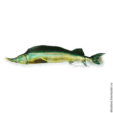 """Сувениры и подарки ручной работы. Ярмарка Мастеров - ручная работа Подарок рыбаку """"рыба Осётр"""".Подарок мужчине рыболову на день рождения. Handmade."""
