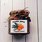 Culinary souvenirs handmade. Livemaster - original item Bonbonniere sea Buckthorn original.. Handmade.