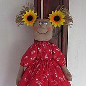 Для дома и интерьера ручной работы. Ярмарка Мастеров - ручная работа Кукла-пакетница. Handmade.
