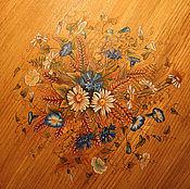 Для дома и интерьера ручной работы. Ярмарка Мастеров - ручная работа Роспись столика. Handmade.