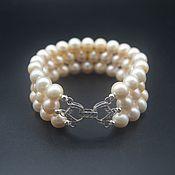 Украшения handmade. Livemaster - original item Bracelet made from freshwater pearls AAA. Handmade.
