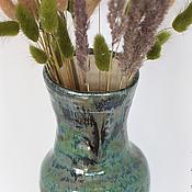 Для дома и интерьера ручной работы. Ярмарка Мастеров - ручная работа Керамическая ваза Пауа. Handmade.