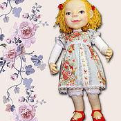 Куклы и игрушки ручной работы. Ярмарка Мастеров - ручная работа Эльжбетка. Авторская каркасная кукла, скульптурный текстиль.. Handmade.