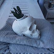Изделия ручной работы. Ярмарка Мастеров - ручная работа Белый череп. Handmade.