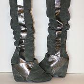 """Обувь ручной работы. Ярмарка Мастеров - ручная работа Ботфорты """"Стрела"""". Handmade."""