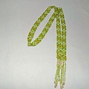 Necklace handmade. Livemaster - original item Gerdan The Grass. Handmade.