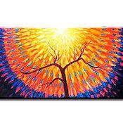 Картины и панно handmade. Livemaster - original item Radiant tree. Handmade.