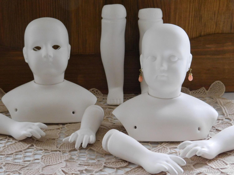 Набор для изготовления репродукции модной куклы Жюмо, Куклы, Ленинградская, Фото №1