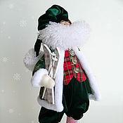 Куклы и игрушки ручной работы. Ярмарка Мастеров - ручная работа Санта Клаус 2. Handmade.