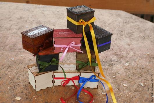 Подарочная упаковка ручной работы. Ярмарка Мастеров - ручная работа. Купить деревянные коробочки. Handmade. Подарок жене, подарочная коробка