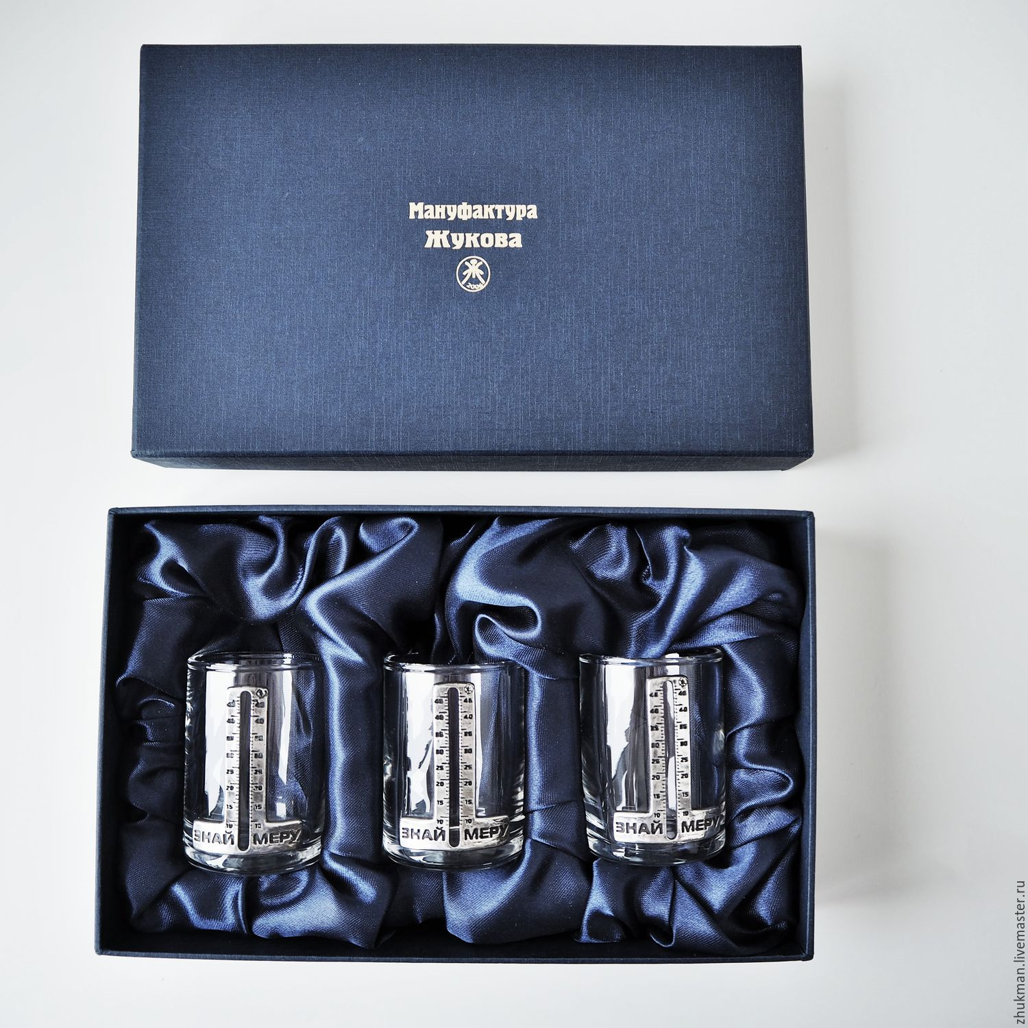A set of stacks for three 'KNOW your limits!' in the case (3 stack in a box), Shot Glasses, Zhukovsky,  Фото №1