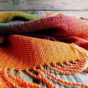 Аксессуары ручной работы. Ярмарка Мастеров - ручная работа Домотканый женский шарф Fall smell. Handmade.
