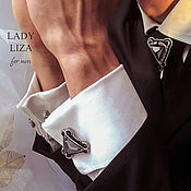 Украшения handmade. Livemaster - original item Edward cufflinks, gift for man, for men, men`s jewelry. Handmade.