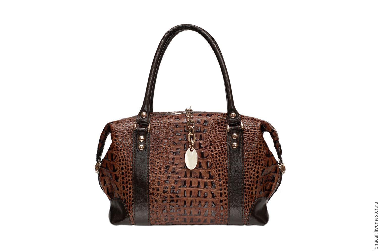 Женская сумка из натуральной кожи ручной работы 154