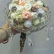 Свадебный салон ручной работы. Ярмарка Мастеров - ручная работа Букет невесты Снежной Королеве. Handmade.