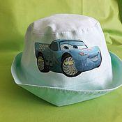 "Работы для детей, handmade. Livemaster - original item Panama ""Cars 2"" for the boy. Handmade."