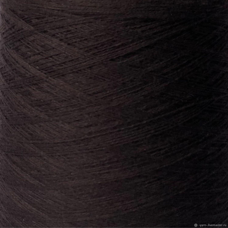 Пряжа Кашемир 2/28 темно-коричневый – купить на Ярмарке Мастеров – NCCLORU   Пряжа, Санкт-Петербург