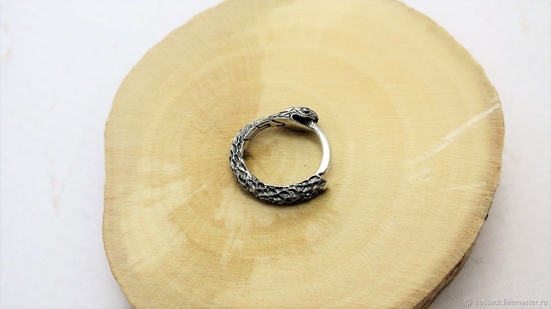 Ouroboros earring 13 mm, Earrings, Zaporozhye,  Фото №1